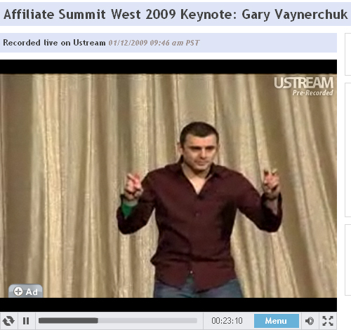 Gary Vanerchuck will challenge your mindset like a direct injection.