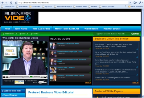 Business Video Site