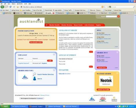 Auckland ICT web site